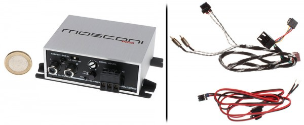 Mosconi Gladen Pico 2 Verstärker Mit ISO-T-Kabelbaum