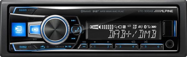 Alpine UTE93DAB Autoradio mit Bluetooth + DAB