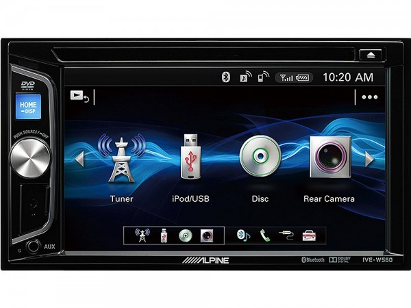 Alpine IVE-W560BT 2-DIN Radio mit Bluetooth