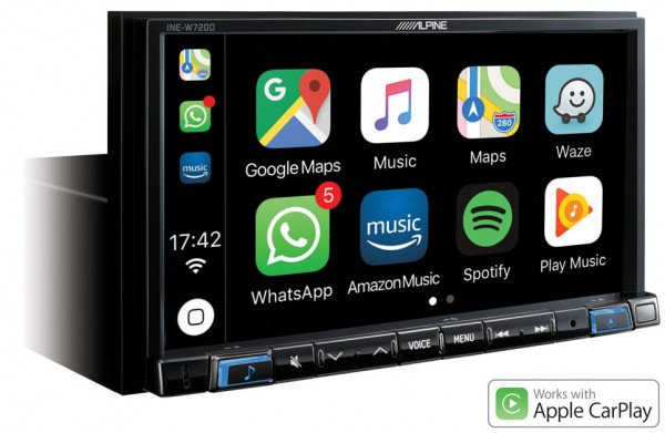 Alpine INE-W720D Navigationssystem