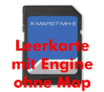 Xzent Ersatzkarte OHNE MH-Kartendaten X-27 SE