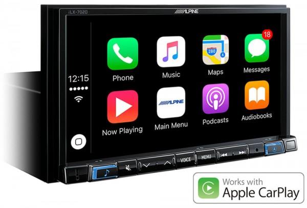 Alpine ILX-702DM Car-Play-Multimediagerät
