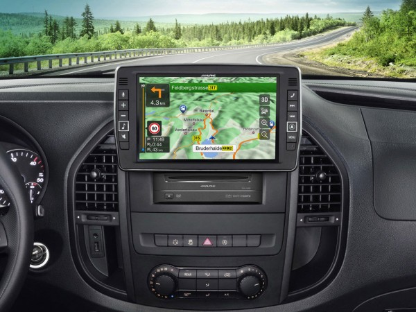 Alpine X903D-V447 Navigation f. Mercedes Vito
