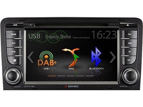 Zenec ZE3150 Navigation für Audi A3