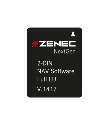 Zenec N-PNEX2SD-FEU Navisoftware Z-E2026