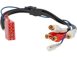RTA 003.021-0 10-polig auf 4 Cinch-Adapter