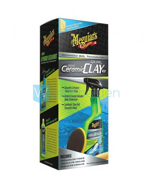 Meguiar's G200200EU Clay Kit | Hybrid-Ceramic