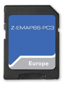 Zenec Z-EMAP66-PC3 PKW-Navi-Software für Z-x56/66/65
