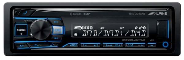 Alpine UTE-204DAB Autoradio mit Bluetooth